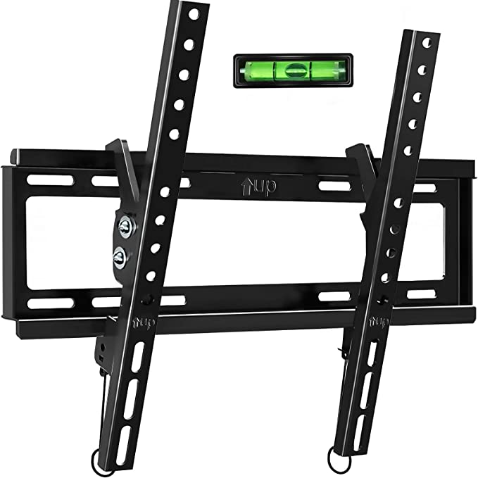 Tilt Tv Wall Mount Bracket For Most 32 55 Inch Flat Screen Curved Tvs Blue Stone Universal Tv Mount With Vesa Up 400x400mm Loading Capacity 66 Lbs Fits 8 12 16 Studs Electronics