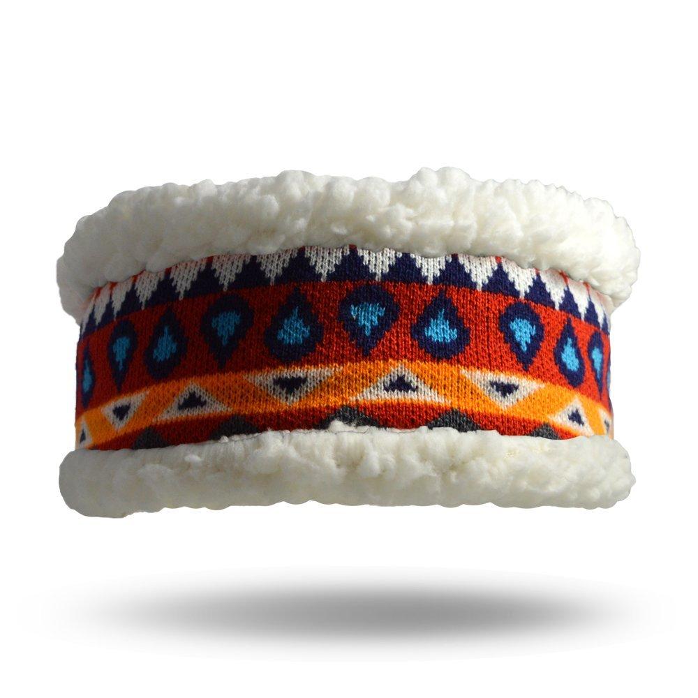 Pudus southwest red adult one size cozy winter headband