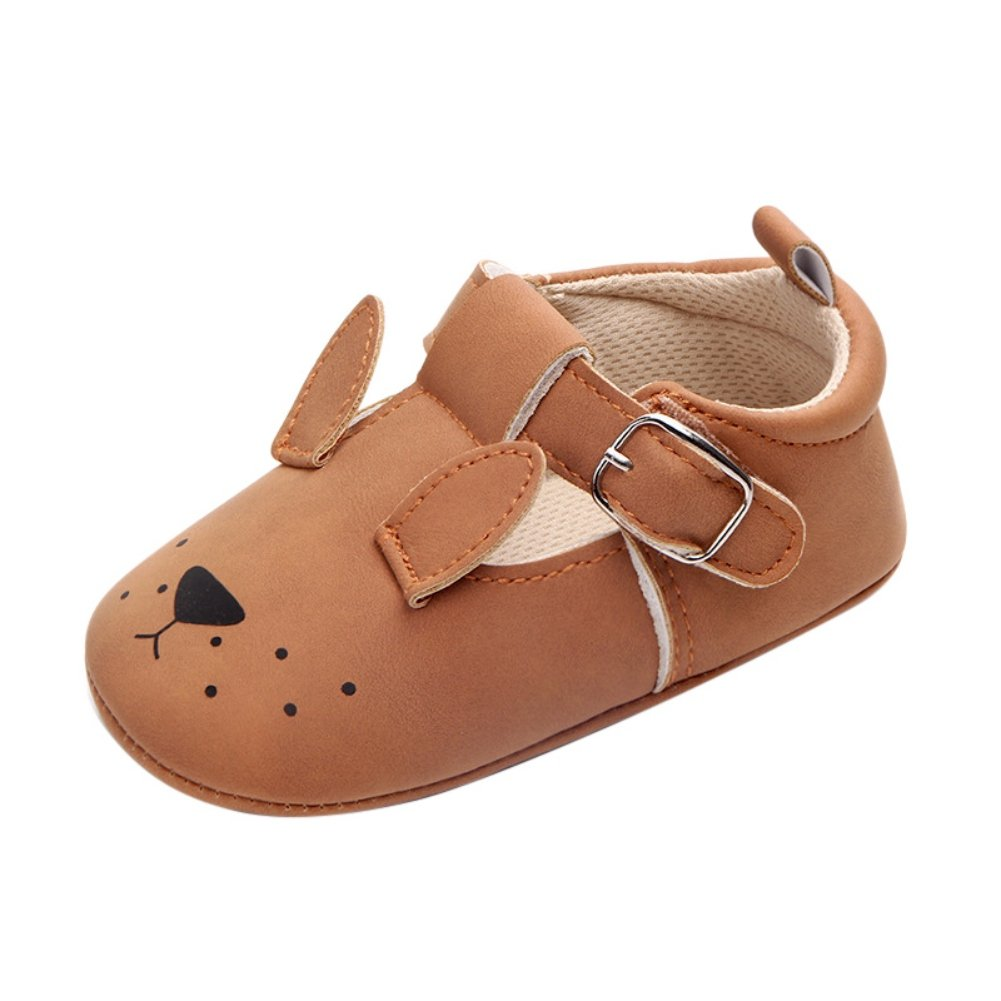 Weixinbuy Baby Boys Girls Cute Pattern Soft Soled Non-Slip Walking Shoes Casual Sneakers