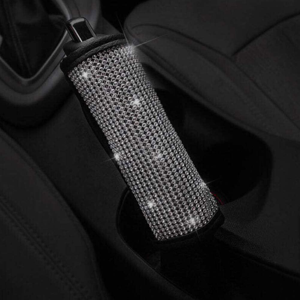 BESTOPSEL Universal Bling Crystal Car Handbremse Abdeckung Diamond Cover f/ür alle Style Car Handbremse