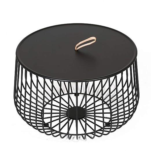 Mesa de centro simple para jaula de pájaros, mesa auxiliar pequeña ...
