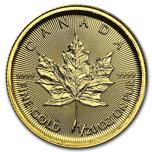 2016 CA Canada 1/20 oz Gold Maple Leaf BU Gold Brilliant Uncirculated
