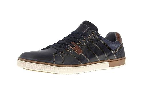 Mustang Shoes - zapatilla baja hombre , color azul, talla 47: Amazon.es: Zapatos y complementos