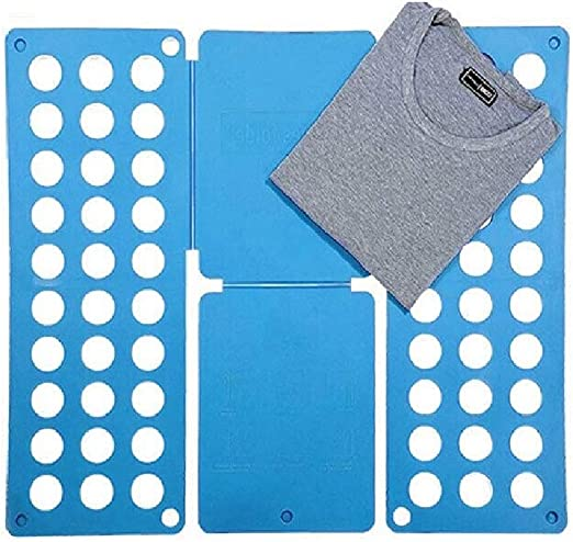 Adjustable T-Shirt Clothes Fast Folder Folding Board Laundry Organizer For Kids