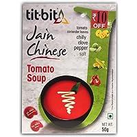 Tit-Bit Jain Chinese Tomato Soup - 50gms (Pack of 5)
