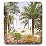 Danita Delimont - Beaches - Resort and Spa. Dubai - Light Switch Covers - double toggle switch (lsp_226128_2)
