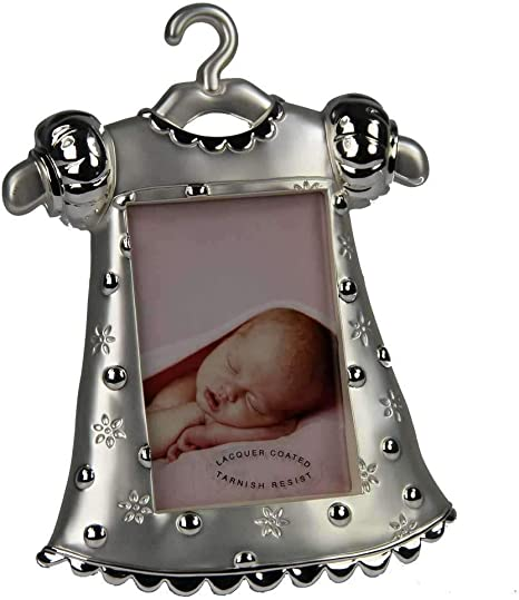 Little Treats Silver Plated Noahs Ark First Year Frame Lesser and Pavey