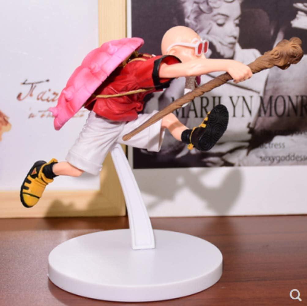 Dragon Ball Anime Figur Super Saiyajin 4 Meister Roshi Kame Sennin Dragon Ball Action Figur 16 cm Sammlermodell Spielzeug F/ür Geschenk