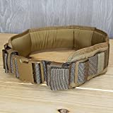 Atlas 46 Harvey Padded Belt Black, Large (36''-38'') | Work, Utility, Construction, Contractor, and Tactical