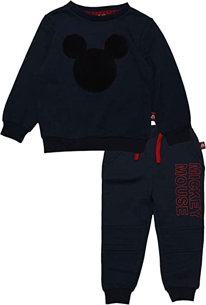 870084ce5 Amazon.com: Mickey Mouse Disney Kids Logo Tracksuit: Clothing