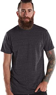 product image for US Blanks Men's Short-Sleeve Made in USA Triblend T-Shirt 3XL TRI CHARCOAL