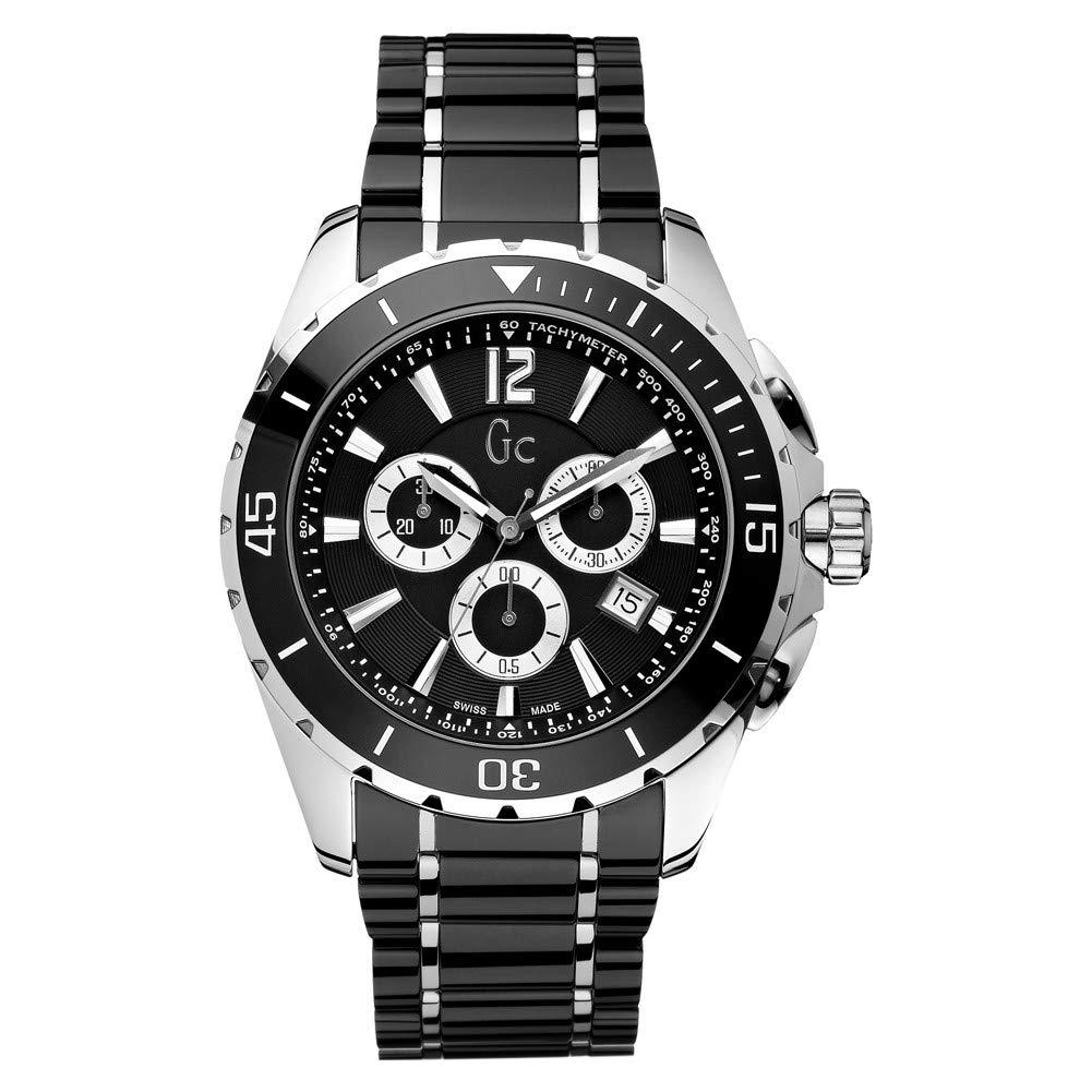 hot sale online 8e555 d0c97 GC by Guess montre homme Sport Chic Collection Sport Class XXL chronographe  X76002G2S