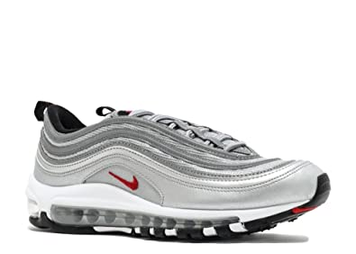 NIKE Air Max 97 QS OG Silver Bullet GS Junior Trainer: Amazon.fr: Chaussures et Sacs