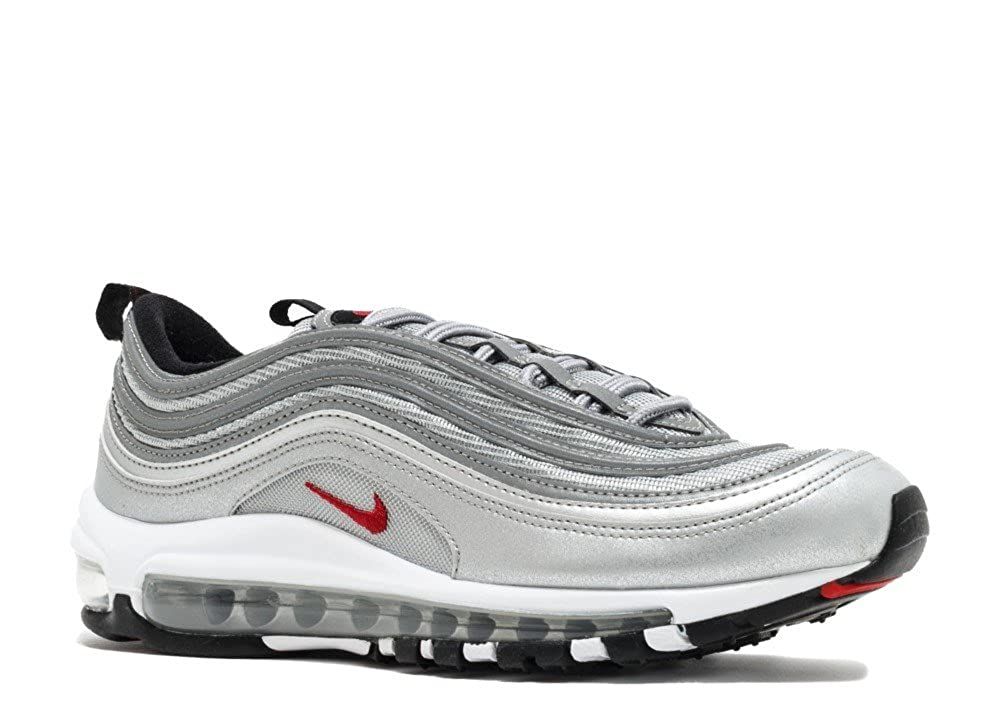 reputable site 5ffb0 e75c8 Amazon.com | Boys' Nike Air Max 97 QS (GS) Silver Bullet ...