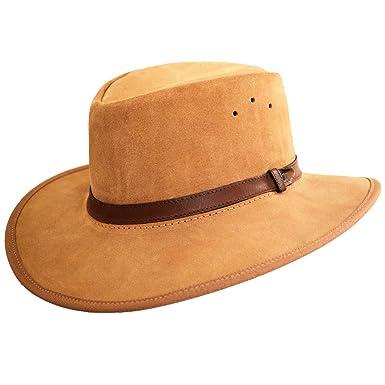 Men/'s Bushwacker Sand Canvas Hat