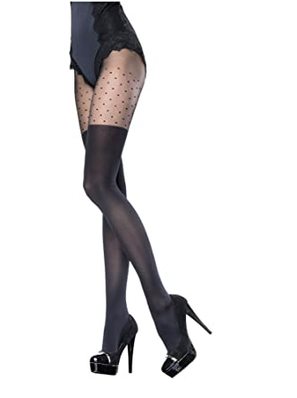 4ce9d6dc28052 Fiore Luxury Super Fine 40 Denier Patterned Sheer Tights: Amazon.co.uk:  Clothing