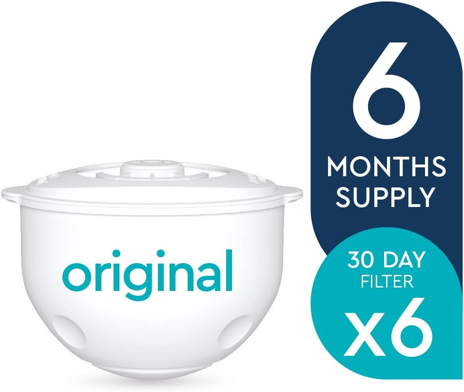 White 12 x 60 Day Water filters-SWP337 y2 Aqua Optima Original 2 Year Pack