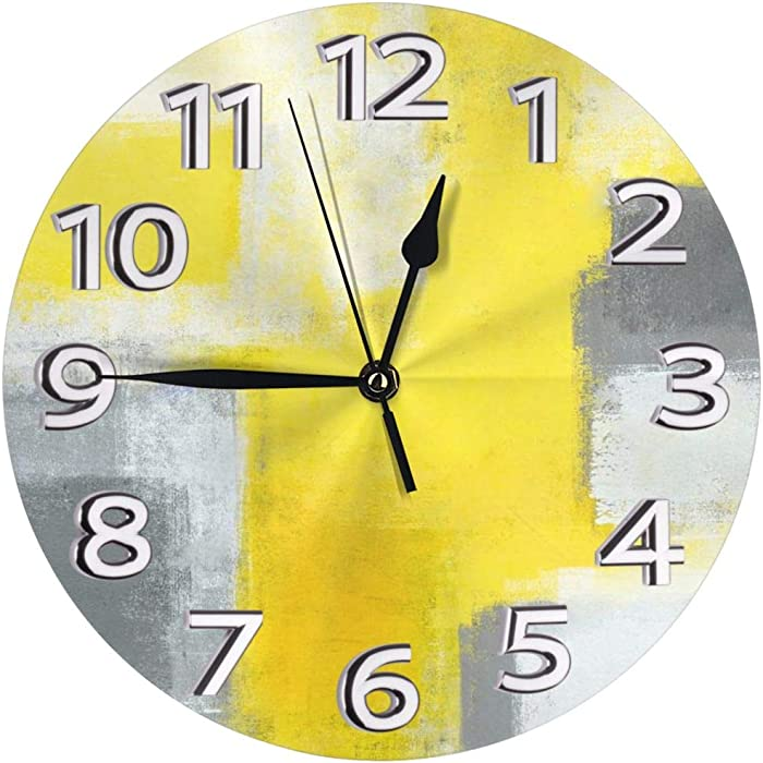 The Best Yellow Clock Office