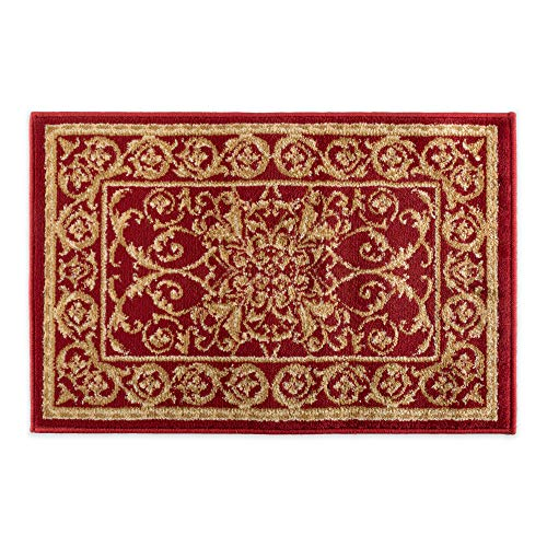 """Fashion Contemporary Traditional Non-Skid Woven Area Rug, 19x33"""", Perfect for Living Room, Kitchen, Bed Room, Loft, Office and more-Regency from J & M Home Fashions"""