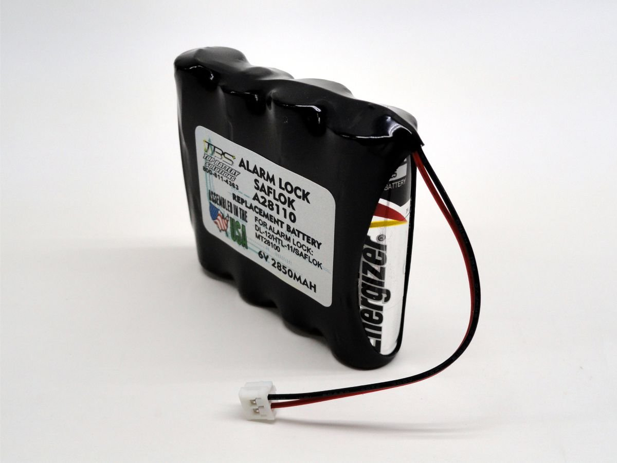 12PC SAFLOK A28110 Replaces HTL11 6V HOTEL DOOR LOCK BATTERY by TOP BATTERY SOLUTIONS (Image #3)