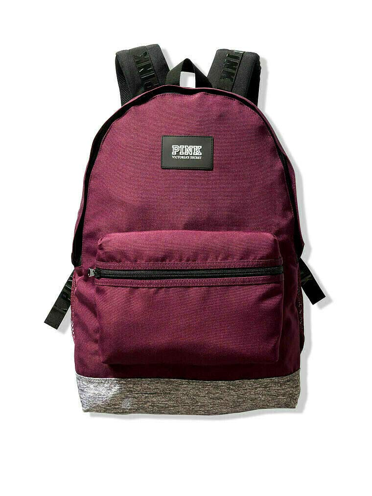 Victorias Secret PINK Campus Backpack 2019 Edition (Luscious Plum) by Pink Victoria Secret