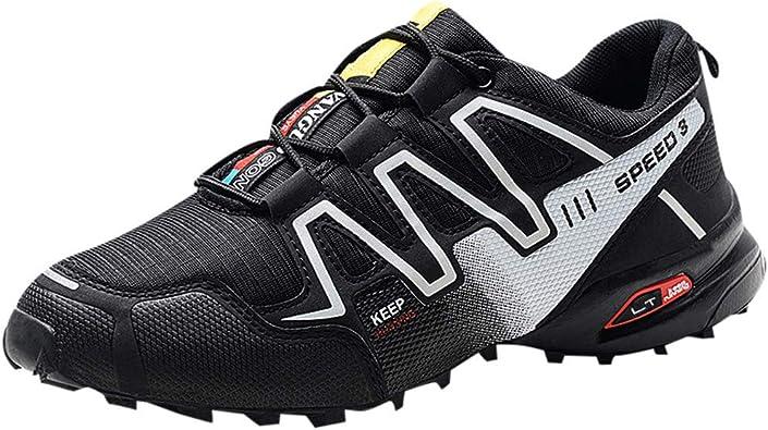 Zapatillas de Running para Hombre,Zapatillas de Trail Running para Hombre, Zapatillas de Senderismo para Asfalto para Hombre: Amazon.es: Zapatos y complementos