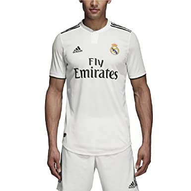newest 33cbb caacd adidas 2018-2019 Real Madrid Home Authentic Jersey- White L