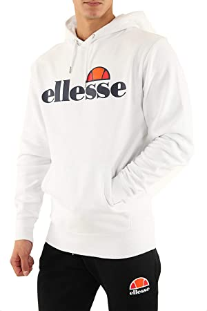 Herren Damen Ellesse Kapuzenpullover Sweatshirt Hoodie Pullover Sportswear Pulli