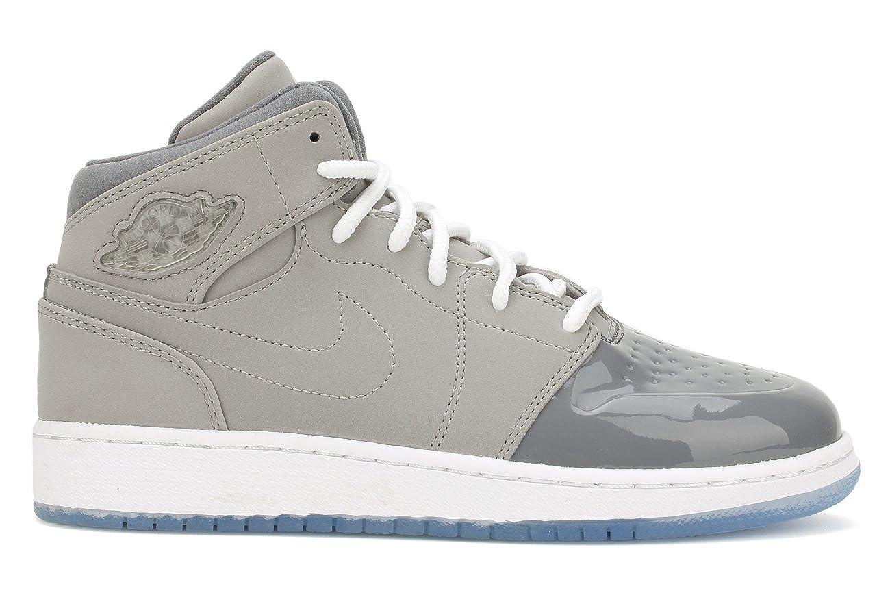 NIKE Air Jordan 1 Retro RETRO '95 (GS) Grade School Kids Sneakers Grey 628620 003