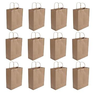Toyvian Bolsas de papel Kraft con bolsas de envoltorio de ...