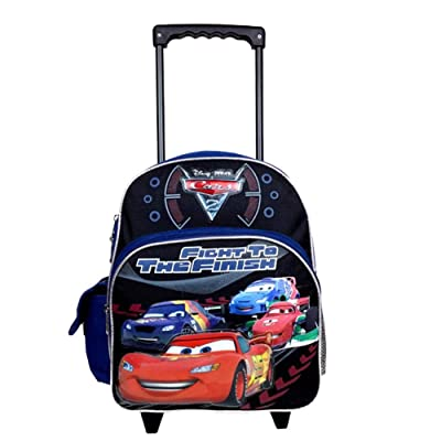 Disney Pixar Cars 2 - Figh to the Finish Toddler Rolling Backpack: Clothing
