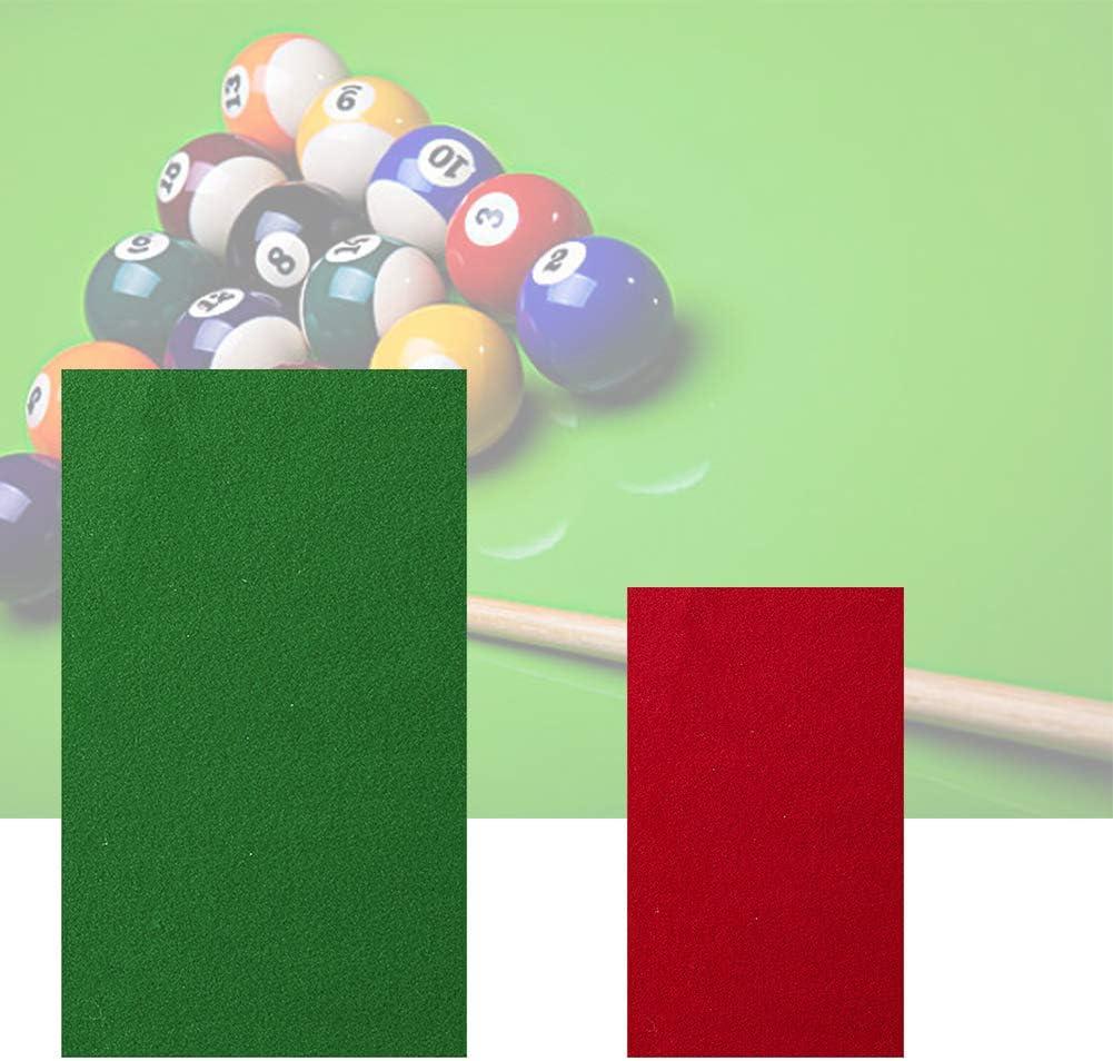 BRLIUK - Paño de billar, mesa de billar, color sólido, accesorios ...
