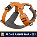 RUFFFWEAR Ruffwear - Front Range No-Pull Dog Harness with Front Clip, Orange Poppy, Large/X-Large