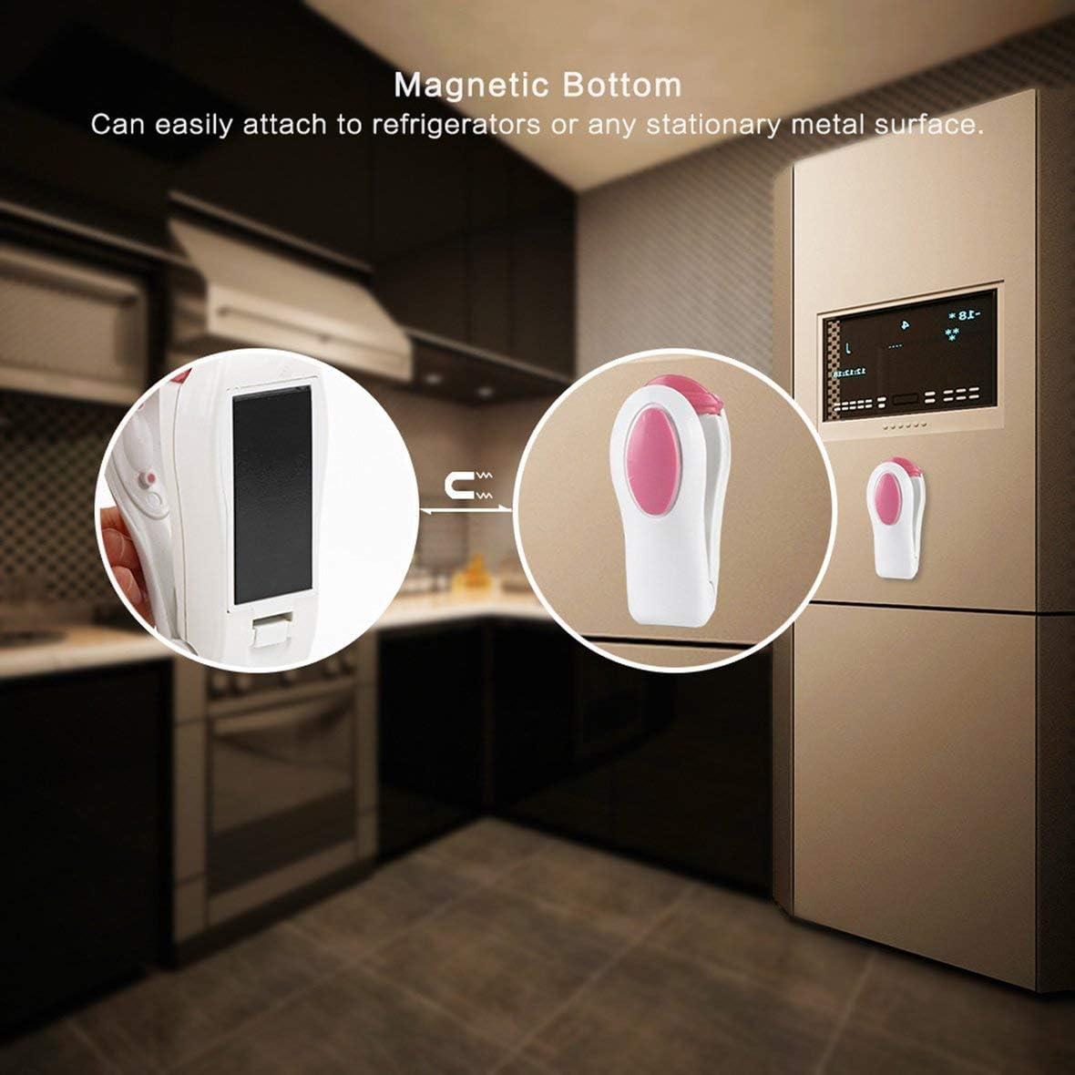 fengzong QFT176 Mini Heat Sealer Famiglia sigillatrice Portatile da Viaggio Rosa