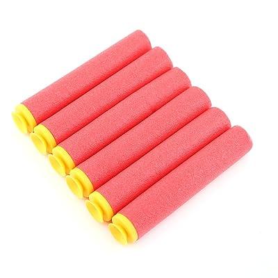 60 PCS Rouge Recharge Mousse fléchettes de Bullet pour Nerf N-Strike Elite Mega Centurion enfants Jouets