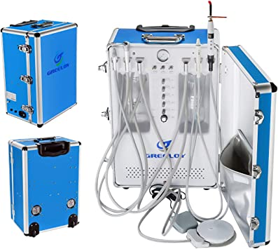 Greeloy Portable All in One Delivery Unit Compressor with LED Light GU-P206S 2H