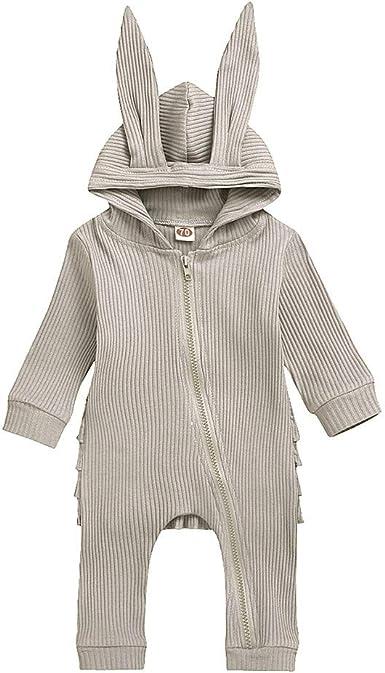 Sameno Baby Christmas Layette Set,Infant Baby Letter Print Romper Jumpsuit Floral Pants Hat Winter Outfit Clothes