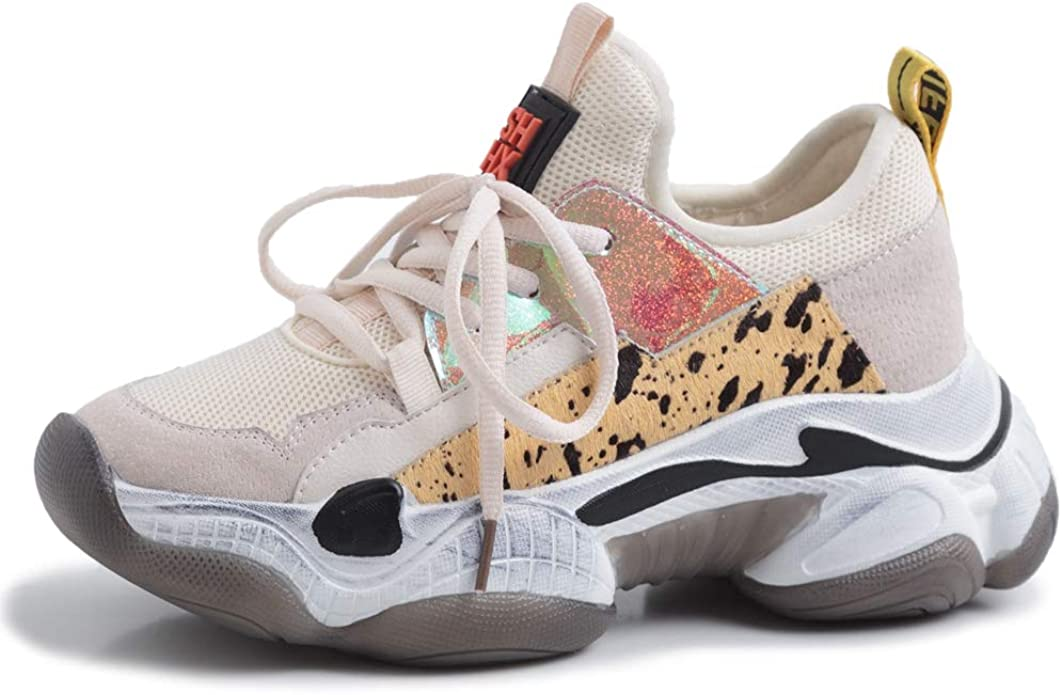 Vimisaoi Chunky Dad Sneakers for Women