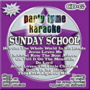 Party Tyme Karaoke - Sunday School (8+8-song CD+G)