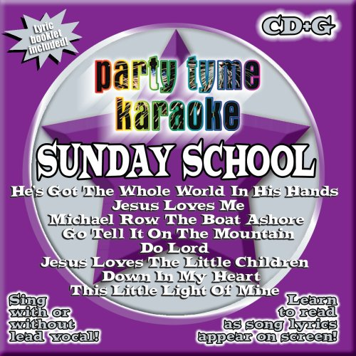Party-Tyme-Karaoke-Sunday-School-88-song-CDG