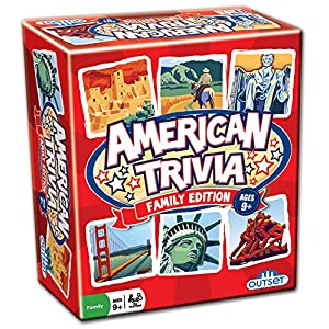American Trivia: Family Edition - 616oCKjSTZL - Outset Media American Trivia: Family Edition