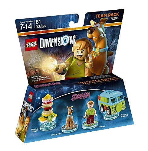 Scooby Doo Team Pack LEGO Dimensions product image