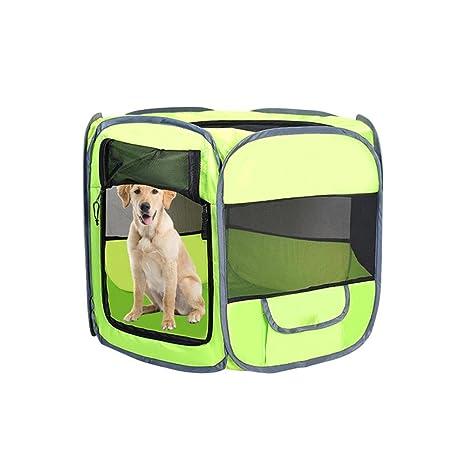 Amazon.com: AOLVO perro playpens interior al aire última ...