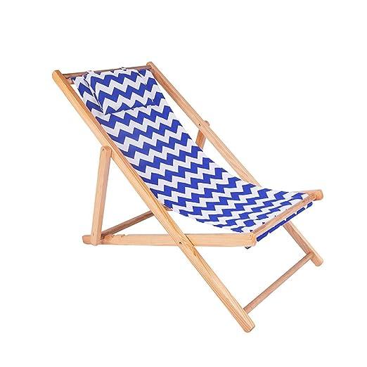 DSDjd Silla Camping Silla de Lona Plegable reclinable de ...