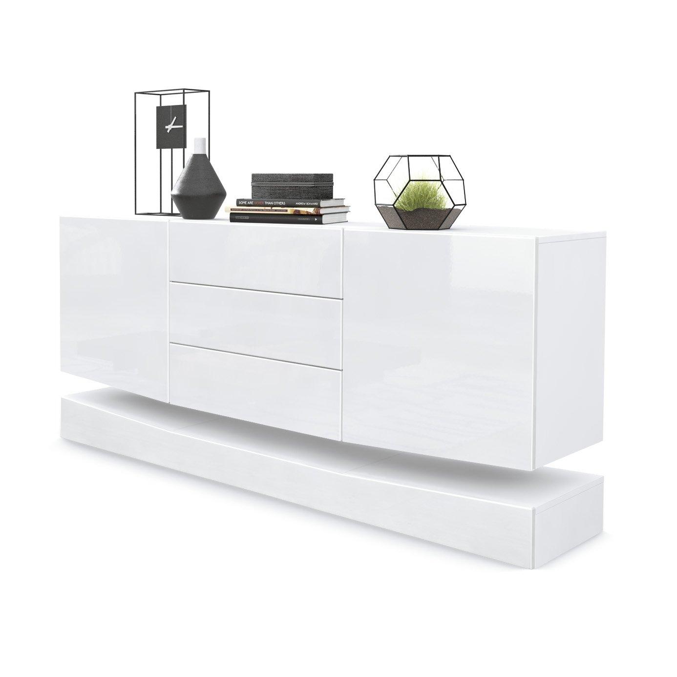 White Gloss Living Room Furniture: Amazon.co.uk