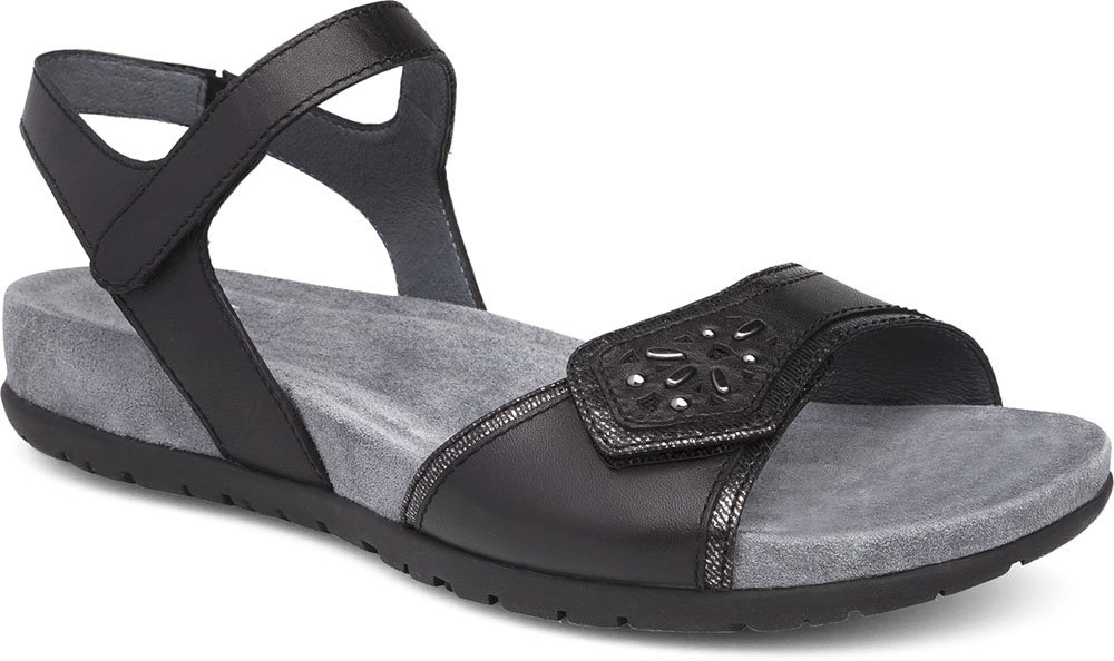 Dansko Womens Sandals Blythe Black, Size-37