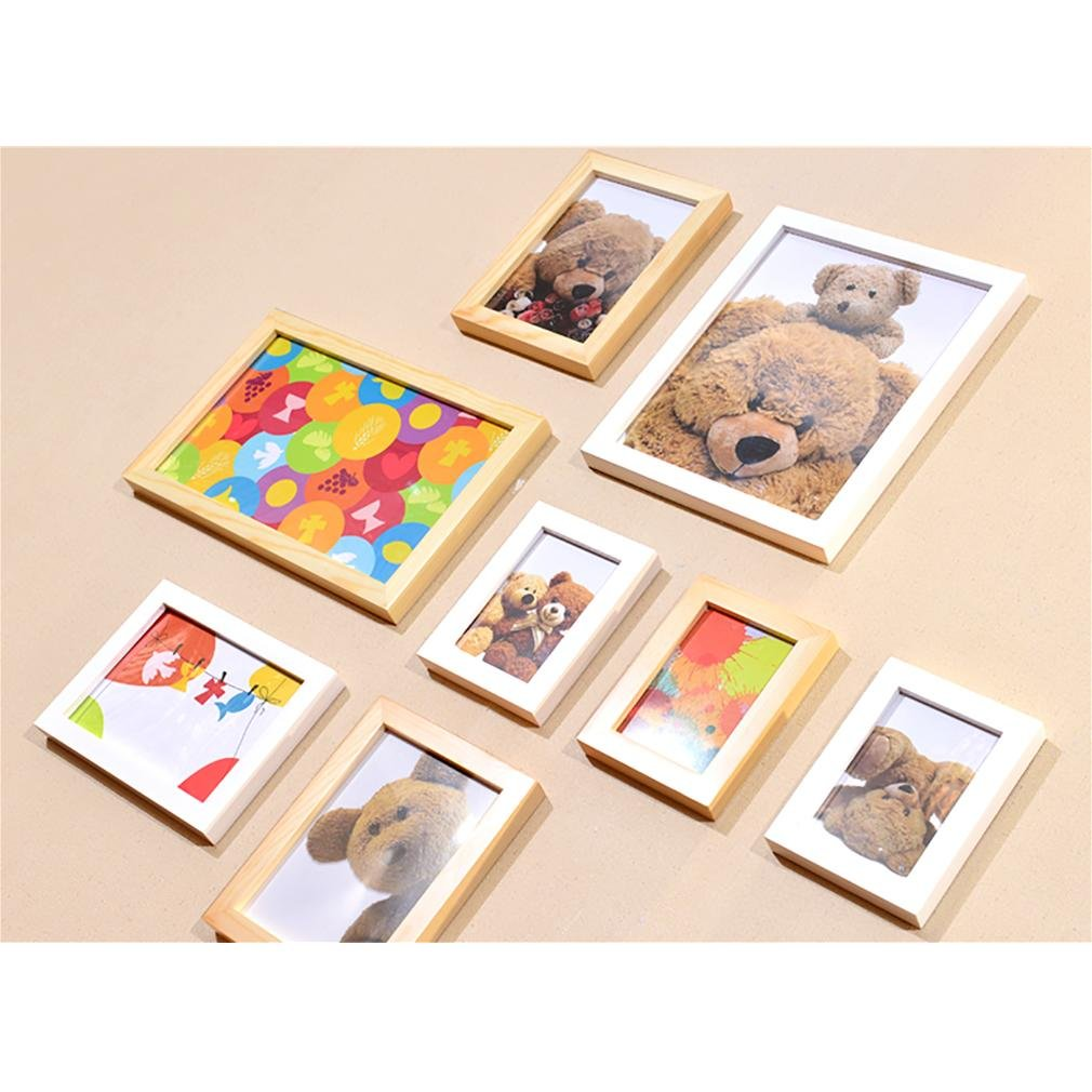 WillST Multi Picture Photo Frame European Style Creative Home Decoration 8pcs , a by Unknown (Image #7)