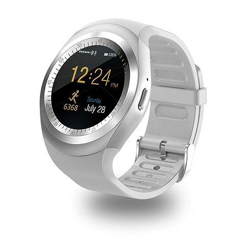 Amazon.com: Reloj inteligente Sn05 redondo Smartwatch ...