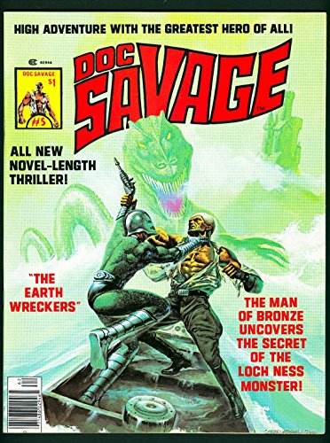Doc Savage Man of Bronze Magazine #5 NM- 9.2