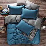WaaiSo Simple Pure Cotton Soft Comfortable Bedding Collections Bedding Sets Four set ,1.8m?suitable 6 inches bed? Four set for chlidren, student, bedroom,&f3622